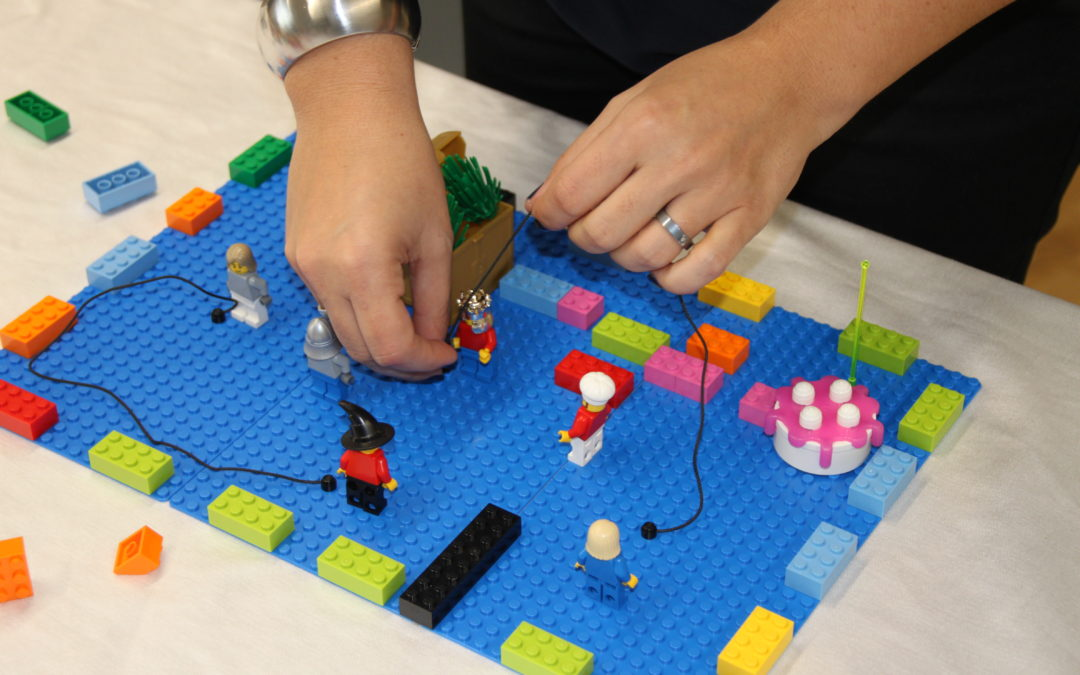 """When A group uses the LEGO® SERIOUS PLAY® methodology for the first time …"